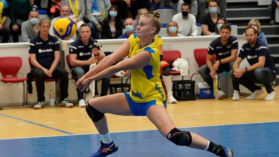 Volleyball Live - Bundesliga : SSC Palmberg Schwerin - Dresdner SC