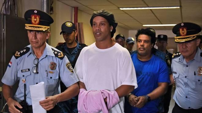 Ronaldinho und sein Bruder Roberto Assis bleiben in Paraguay in Haft