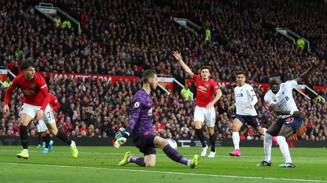 Das Hinspiel zwischen ManUnited und Liverpool endete 1:1