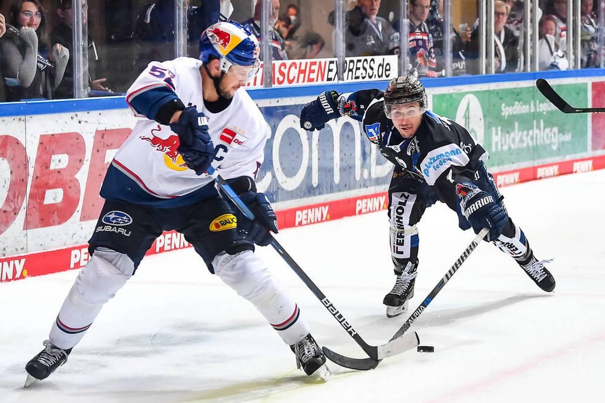 Red Bull München bleibt in der PENNY DEL das Maß der Dinge. Auch Bremerhaven kann die Bayern nicht gefährden.