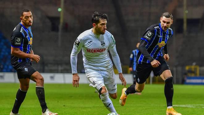 Waldhof verschenkt 2-Tore-Vorsprung gegen Verl