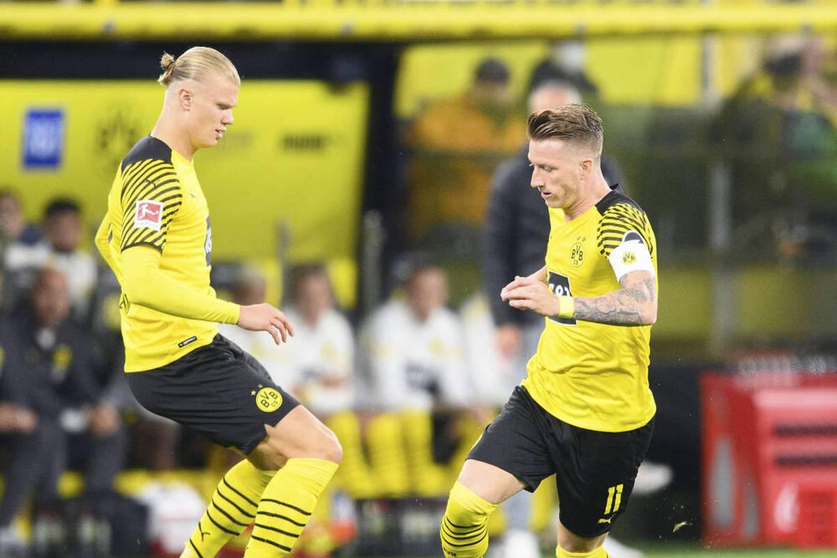 Es hatte sich bereits angedeutet, nun ist es entschieden: Erling Haaland fällt auch gegen Sporting aus, Marco Reus steht dem BVB dagegen zur Verfügung.