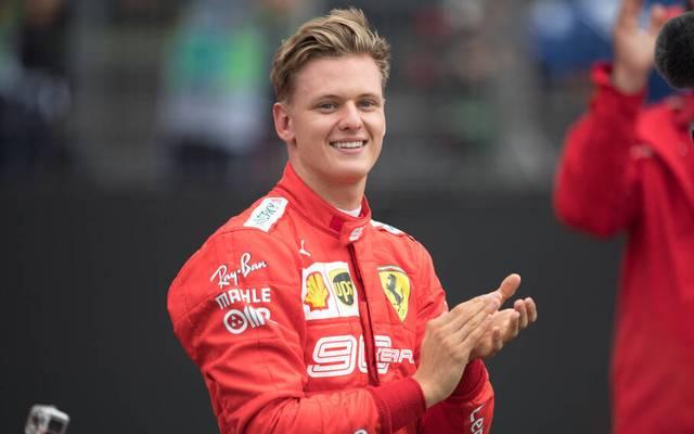 Mick Schumacher fährt ab 2021 in der Formel 1 für das Team Haas