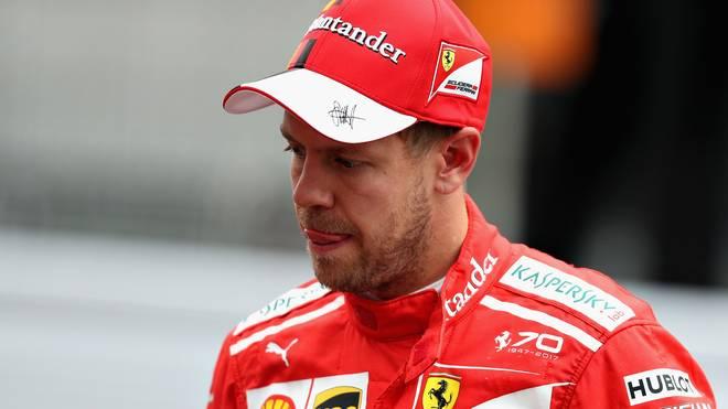 Sebastian Vettel verpasste in Suzuka einen Teil der Hymne und wird verwarnt