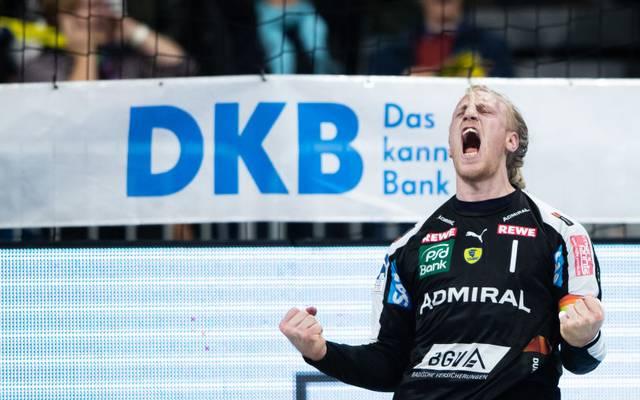 Mikael Appelgren und die Rhein-Neckar Löwen sind derzeit in bestechender Form