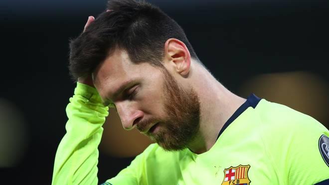 Lionel Messi wollte unbedingt den Henkelpott nach Barcelona holen