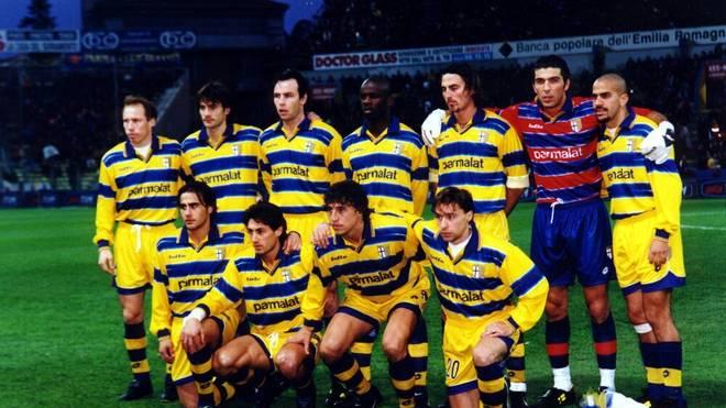 Das legendäre Team des AC Parma Ende der Neunziger