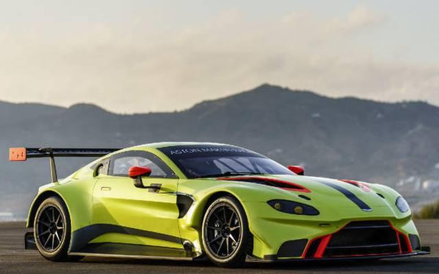 Das ist die WEC-Waffe von Aston Martin: Der Vantage GTE, Jahrgang 2018