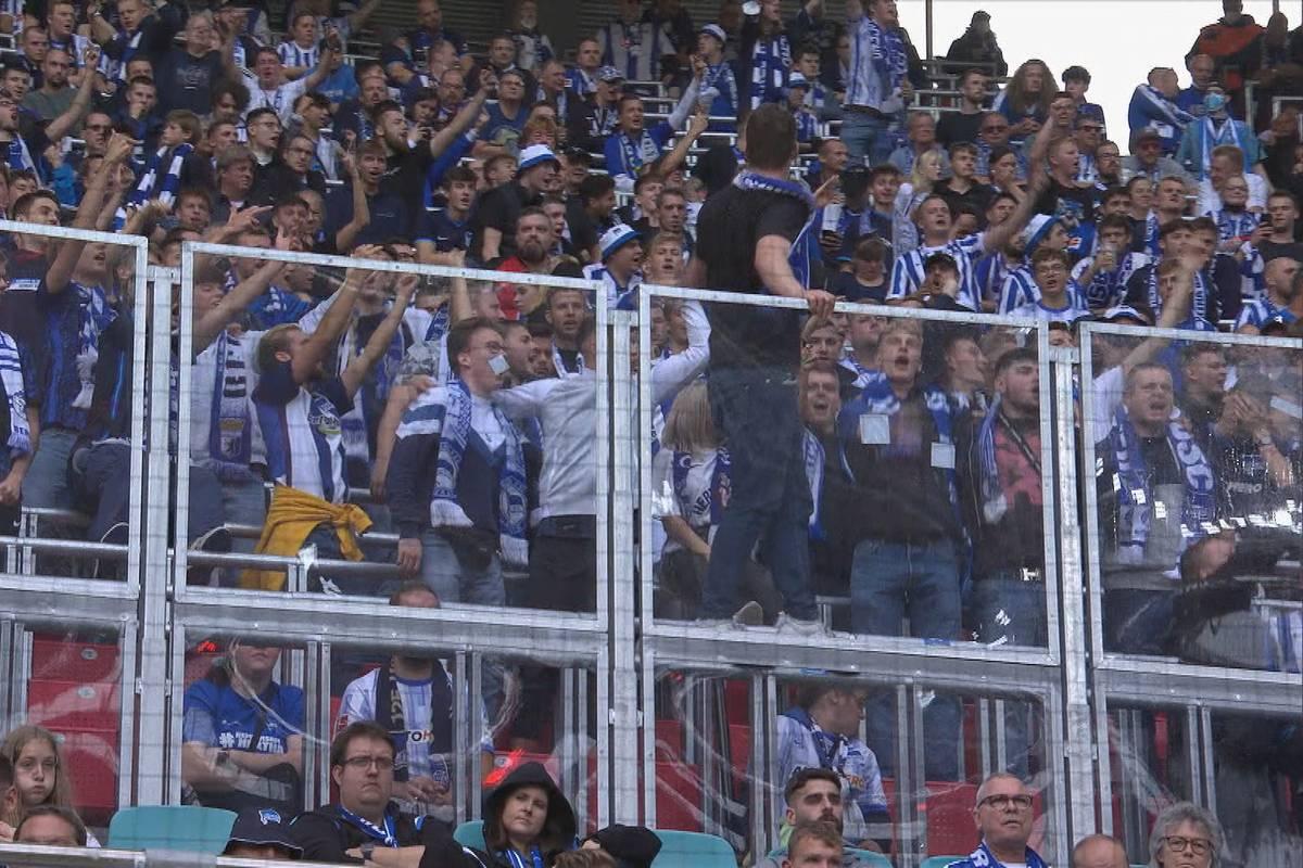 Berliner Galgenhumor: Selbst die Hertha-Fans lachen über das 0:6