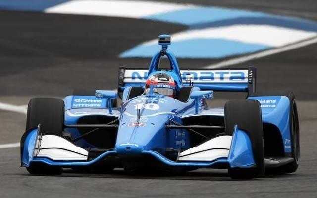 Felix Rosenqvist sicherte sich seinen ersten P1-Award in der IndyCar-Serie
