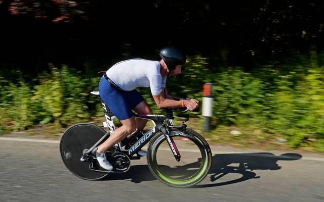 Stefan Schumacher ist seit diesem Jahr als Triathlet aktiv