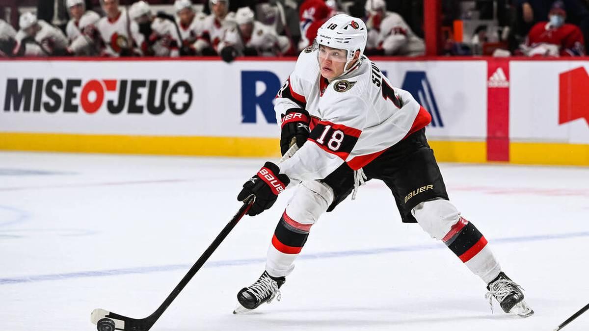 Tim Stutzle hat in seiner Rookie-Saison bei den Ottawa Senators mehr als überzeugt