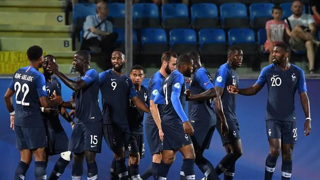 FBL-EURO-U21-FRA-CRO Trotz zweier Sieg muss Frankreich gegen das Überraschuntgsteam aus Rumänien noch um dne Einzug ins Halbfinale zittern