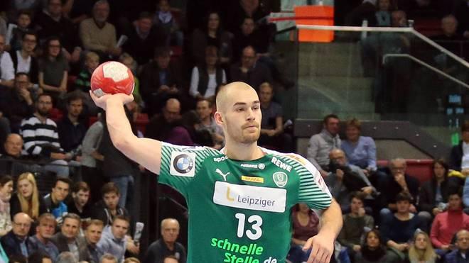 Maximilian Janke spielt in der Handball-Bundesliga beim SC DHfK Leipzig