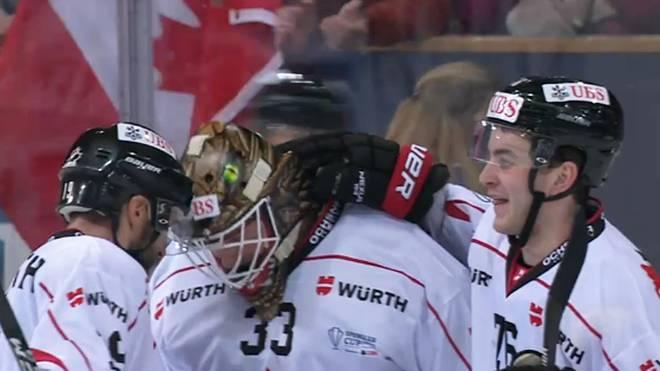 Das Team Canada startete mit einem Sieg in den Spengler Cup