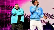 MIAMI, FLORIDA - JANUARY 30: (L-R) DJ Khaled and Ball Greezy perform onstage during the EA Sports Bowl at Bud Light Super Bowl Music Fest on January 30, 2020 in Miami, Florida. (Photo by Frazer Harrison/Getty Images for EA Sports Bowl at Bud Light Super Bowl Music Fest  )