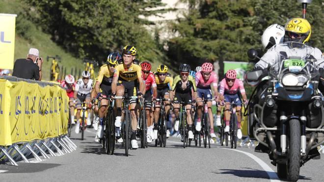 Bei der Tour de France steht die zweite Bergankunft an