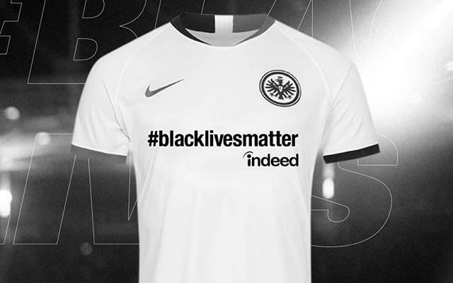 Eintracht Frankfurt setzt ein Zeichen gegen Rassismus