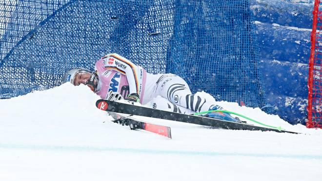 Thomas Dreßen erlitt in der letzten Saison einen schweren Sturz