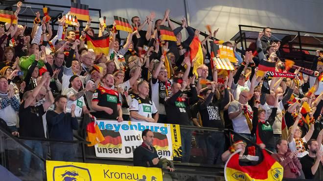 Die Handball-EM der Männer 2020 in Deutschland hat viele begeisterte Zuschauer angezogen