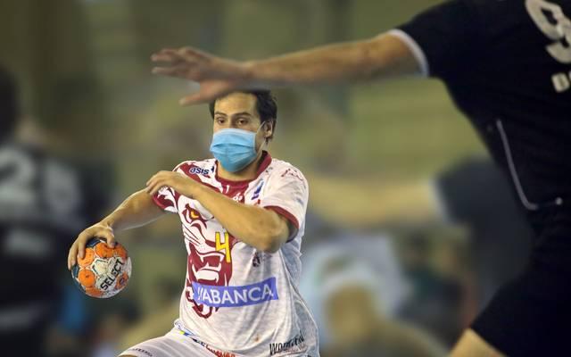 Erwin Feuchtmann, früherer Handball-Bundesliga-Profi, ist fassungslos, in Spanien bei Ademar León mit einer Maske spielen zu müssen