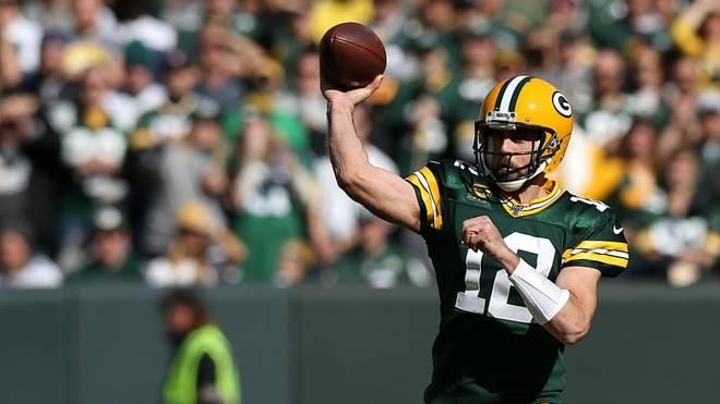Aaron Rodgers führt seine Green Bay Packers zum Sieg gegen die Oakland Raiders