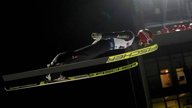 Deutsche Skispringer greifen nach dem ersten Sieg