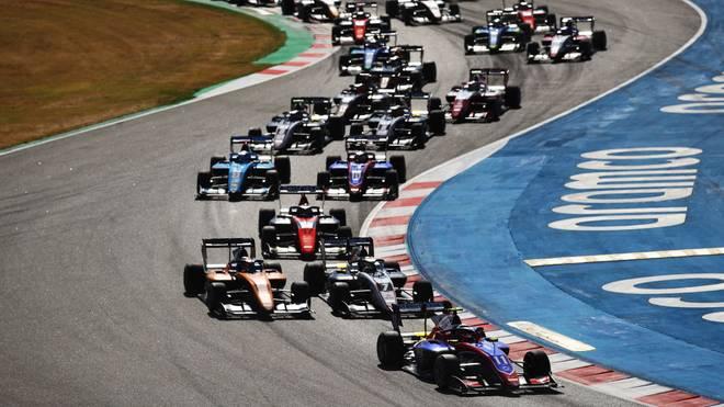 Die Formel 3 machte Station in Barcelona