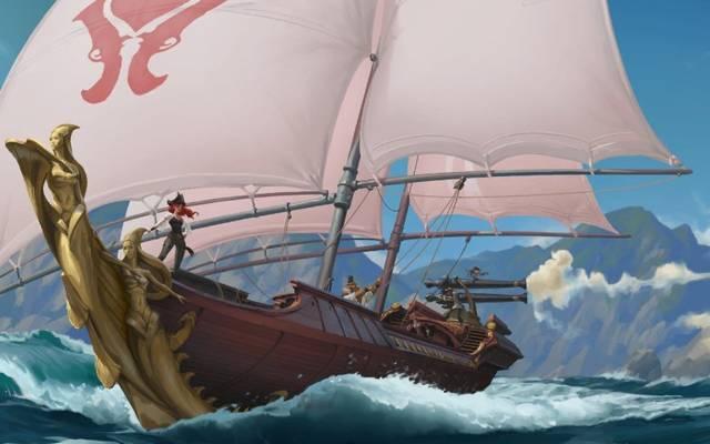 Miss Fortune ist eine der fünf neuen Champions der Bilgewasser-Region in Legends of Runeterra.