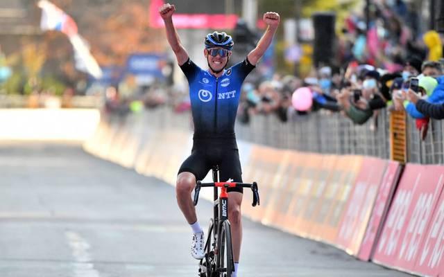 Ben O'Connor setzte sich auf der 17. Etappe durch