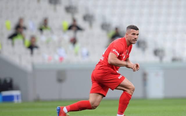 Lukas Podolski konnte mit Antalyaspor den nächsten Sieg einfahren