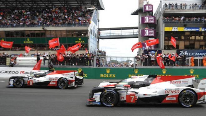 Toyota bleibt der WEC bis mindestens zu den 24h Le Mans 2020 erhalten