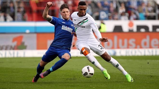 Hannover 96 verlor beim Karlsruher SC