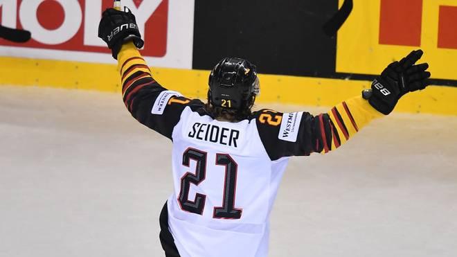 Moritz Seider hat mit der deutschen U20 das erste Relegationsspiel gegen Kasachstan gewonnen