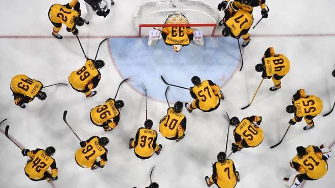 Die deutsche Eishockey-Nationalmannschaft wird in eine Gruppe eingeteilt