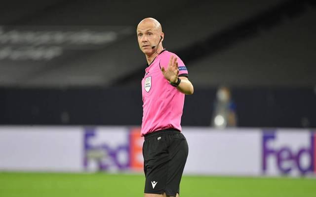 Anthony Taylor in der Europa League im Einsatz