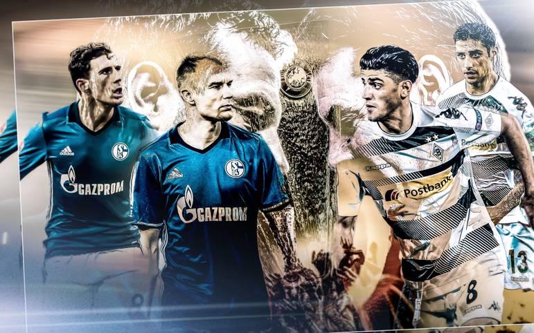Deutsches Duell im Achtelfinale der UEFA Europa League: Schalke und Gladbach messen heute (ab 19 Uhr LIVE im TV auf SPORT1) im Hinspiel die Kräfte. SPORT1 bewertet beide Teams im Head to Head