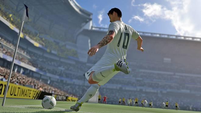James Rodriguez in FIFA 17
