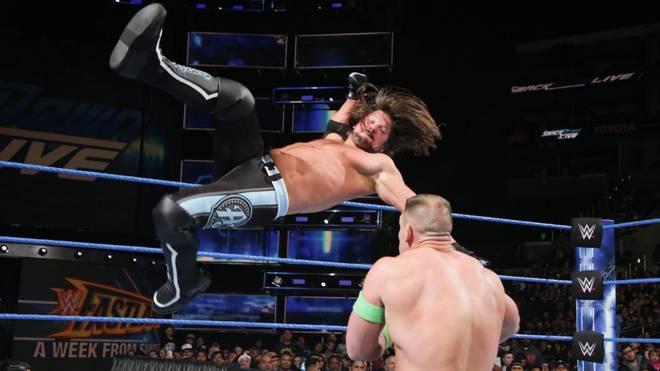 AJ Styles (l.) und Co. sind für WWE jede Woche in Aktion