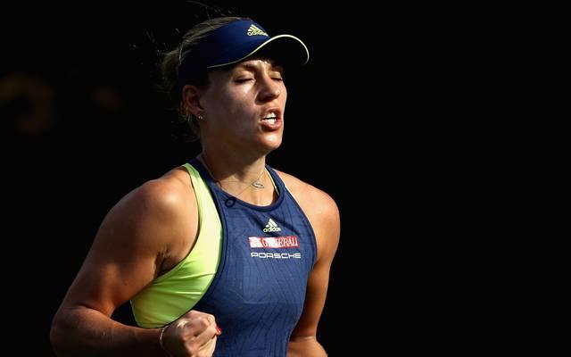 Angelique Kerber steht in Dubai bereits im Halbfinale