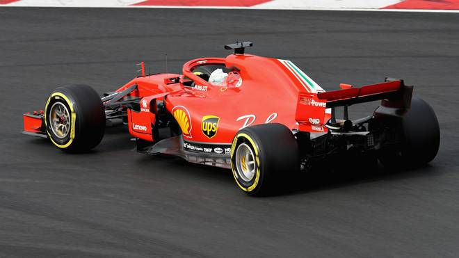 Sebastian Vettel ist zufrieden mit seinem Auto