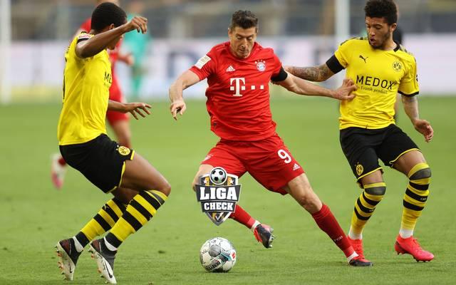 Der FC Bayern wird in der neuen Spielzeit wieder von Borussia Dortmund herausgefordert