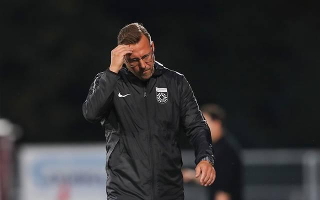 Sascha Hildmann ist nicht länger Trainer bei der SG Sonnenhof Großaspach