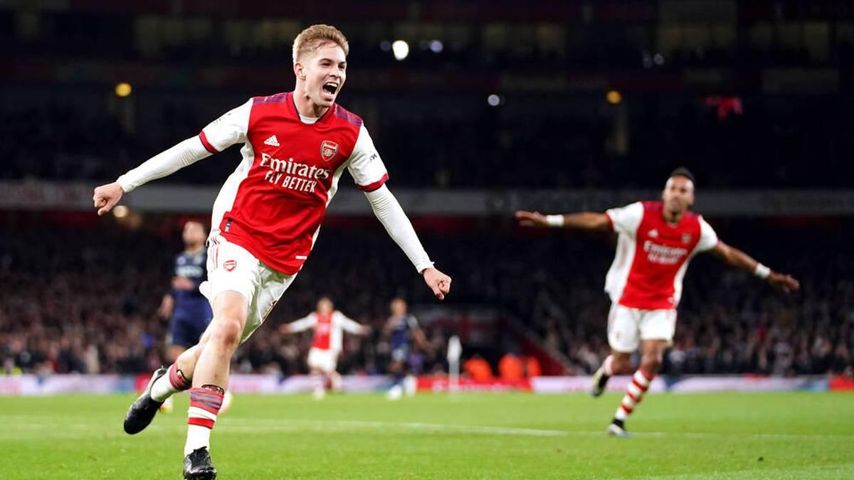 Dank Tor-Premiere: Arsenal siegt gegen Villa