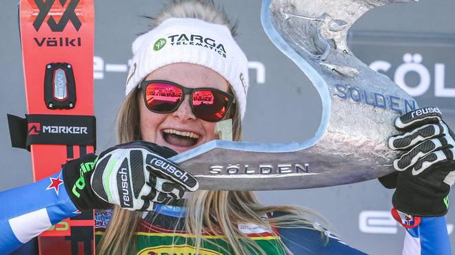 Alice Robinson überraschte in Sölden die Ski-Welt