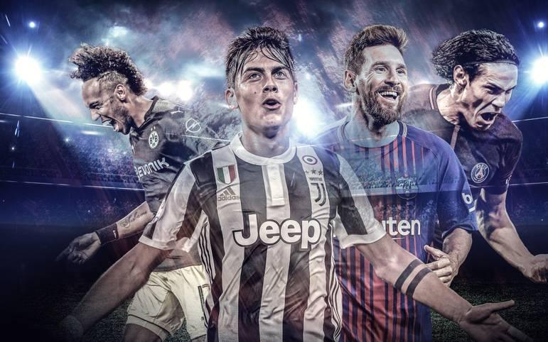 Vor dem 2. Spieltag der Champions League treffen Dybala, Aubameyang und Co. wie am Fließband. Doch wer ist derzeit der effektivste Torjäger? SPORT1 macht das Ranking