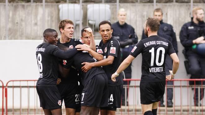 Energie Cottbus gewann beim BAK dank des Treffers von Lasse Schlüter mit 1:0