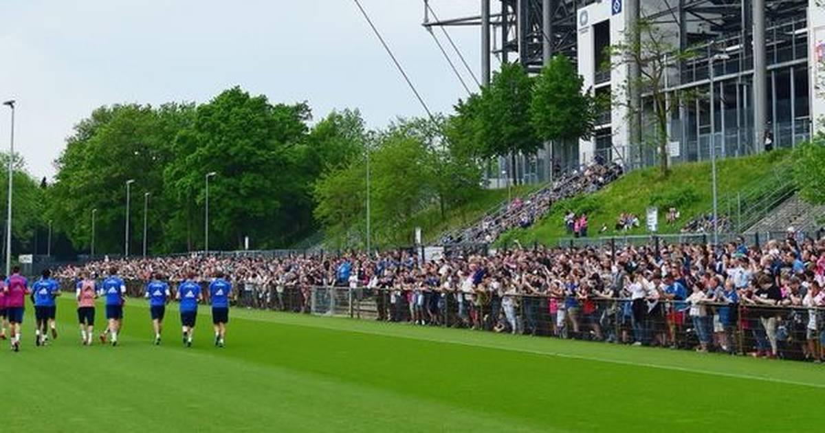 HSV-Training mit 1.500 Fans: Hamburg heiß auf Finale im Abstiegskampf