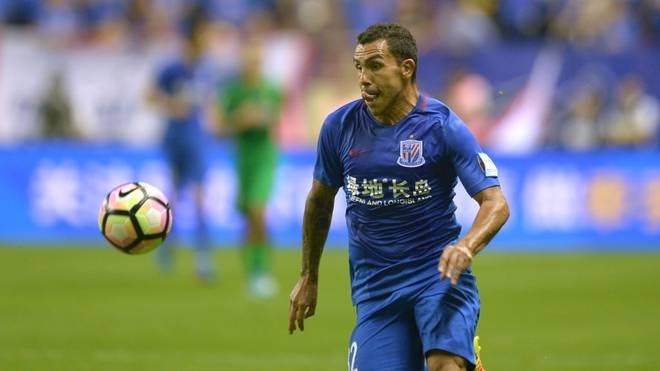 Carlos Tevez verdiente in Shanghai 40 Millionen Euro im Jahr