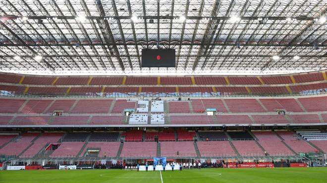 Die Stadien der Serie A sind wegen der Corona-Krise seit Wochen leer